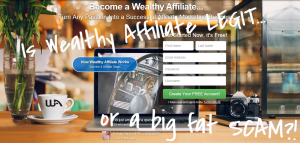 wealthy affiliate scam